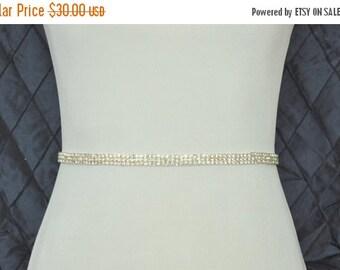 SALE Crystal Wedding Belt, Wedding Sash, Bridal Belt, Bridal Sash, Wedding Dress Belt, Wedding Dress Sash, Bridesmaid Belt, Crystal Rhinesto