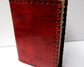 Hand Made journal A5 / Organic Cotton Paper / Hand sewn thick cover / 300 pages /Hand made paper / Leather Bound book /