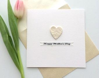 Bespoke Mother's Day Keepsake Card