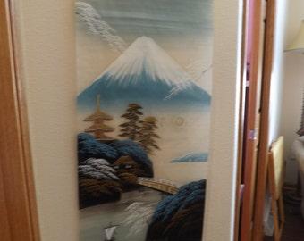 Beautiful Oriental Scroll Wall Hanging