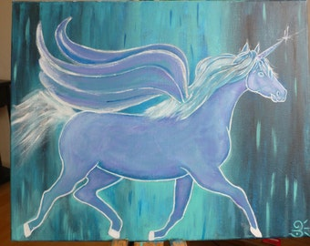 Pegasus blue night