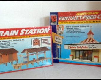 Vintage Train Kits