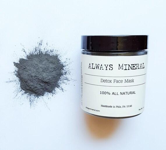 Diy Face Mask Activated Charcoal Powder Deep Cleanse Detox: Detox Face Mask. Activated Charcoal. Bentonite Clay. Tea Tree