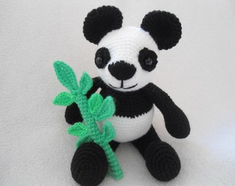 Amigurumi Panda crochet pattern