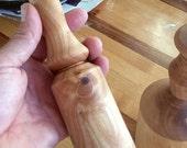 Birch wood mallet, kitchen mallet, crab mallet, carving mallet