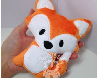 Custom Made Micro Fox (Optional Rattle)