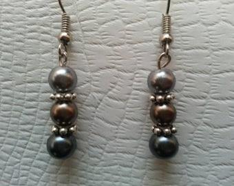 Dark Toned Earrings