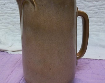 Vintage Frankhoma 80 Tall Pitcher Brown, S