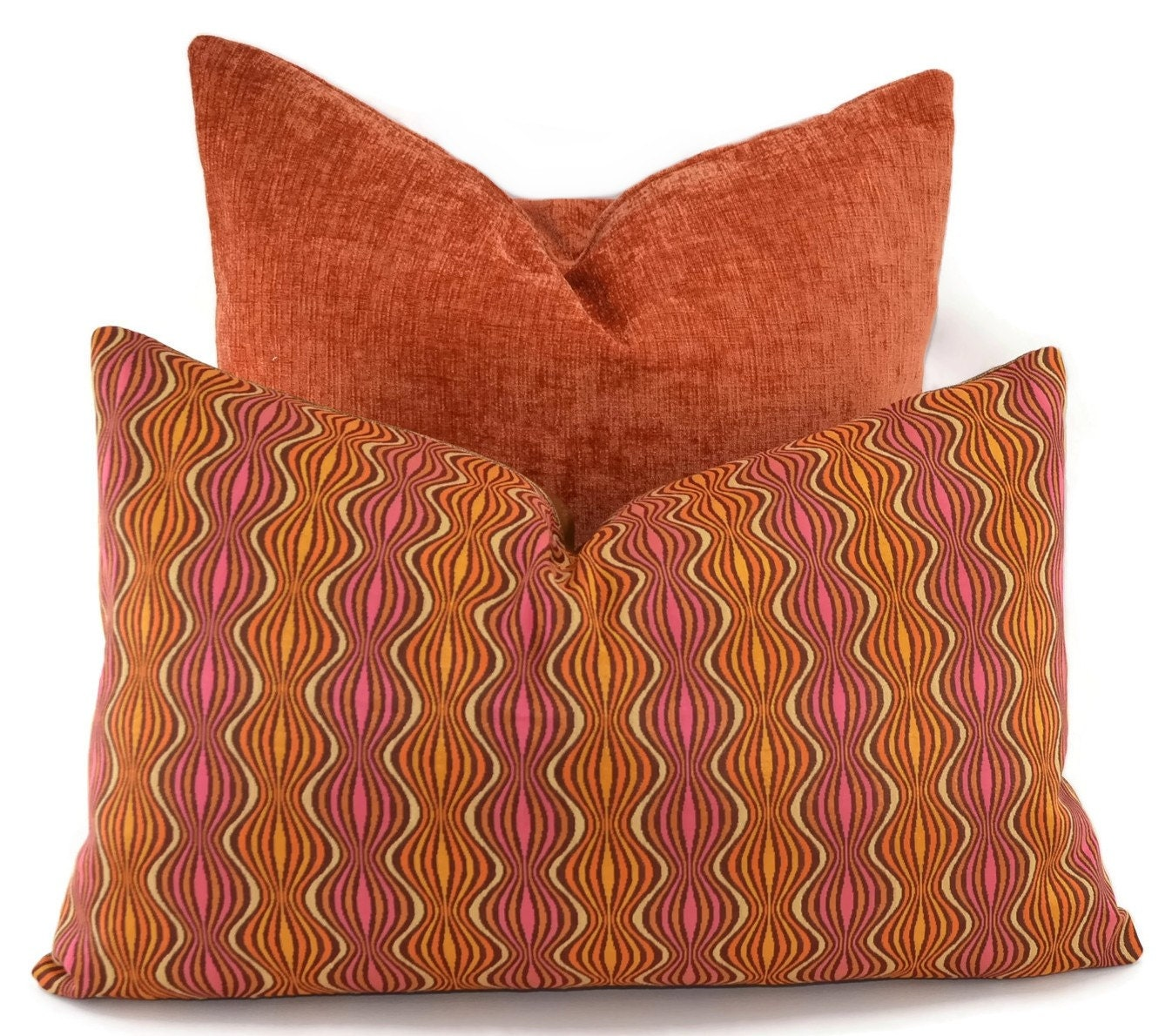 Mid Century Style Pillows : CLEARANCE Throw Pillow Cover Mid-Century Modern Design