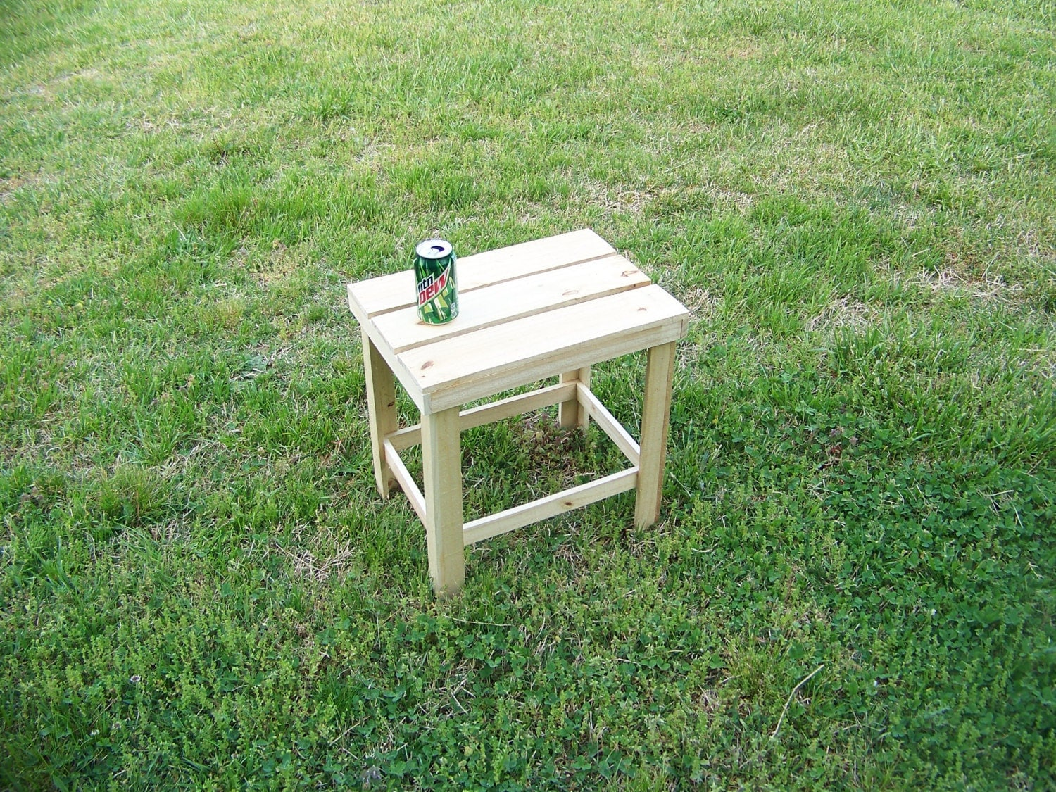 Table Pressure Treated Outdoor Table Deck Rustic Cabin Picnic Table Side Table Grilling