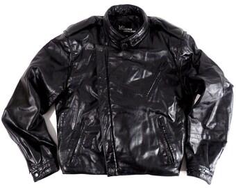Vintage Wilson Cafe Racer Motorcycle Jacket mens size M
