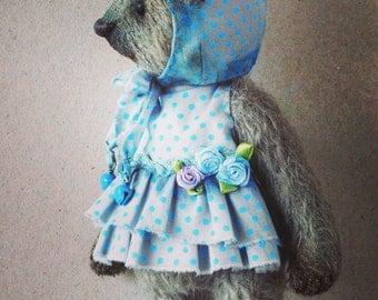 "Reserved Artist teddy bear OOAK "" Ruth """