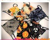 Anniversary Sale 20% Off BJD Doll Accessories - Halloween Print Drawstring Backpack - 6 Choices - 2 Sizes