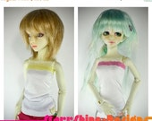 Sale 25% Off BJD MSD 1/4 Doll clothing - Lace Trimmed Tube Top - Mix and Match Your Own Colors