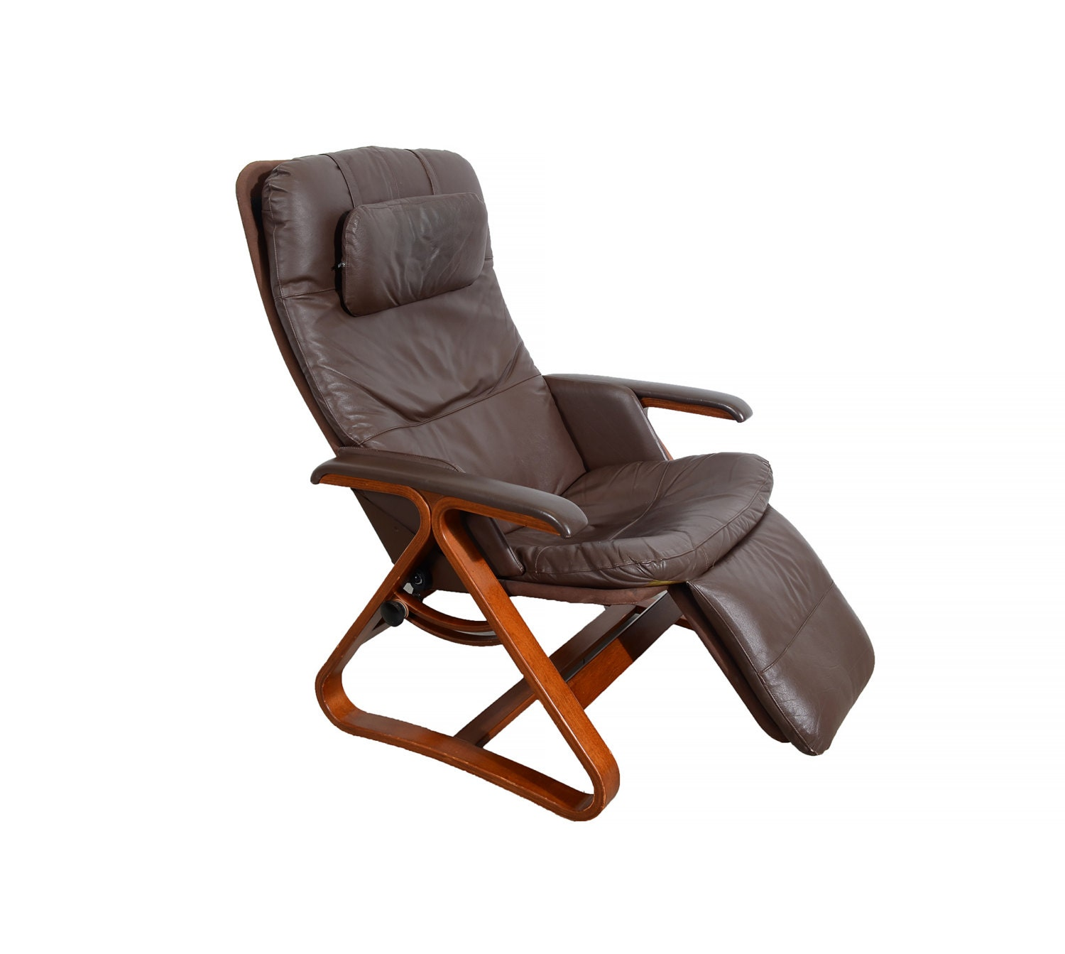 Leather Lounge Chair Backsaver Zero Gravity Chair Danish