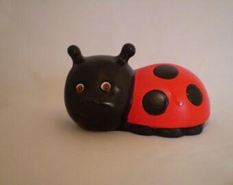 Baby Ladybug Statue