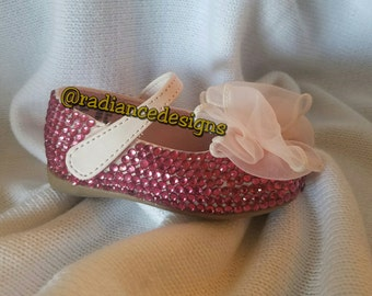 Girls Mary Janes with a Bow