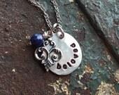 Beloved Pewter Necklace
