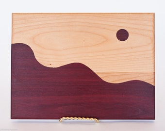 Moonscape Cutting/Serving Board