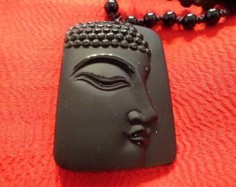JN103 Obsidian Quan Yin