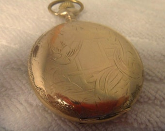 Antique Ball Pocket Watch Commercial Standard ca 1905 - Works - T676