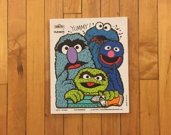 1978 Sesame Street Etsy