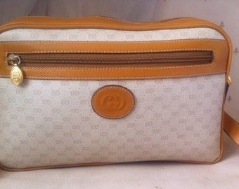 1980s GUCCI Shoulder/Cross Body Bag