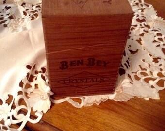 Ben Bey cigar box