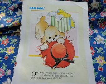 Mabel Lucie Attwell book illustration Bad Dog
