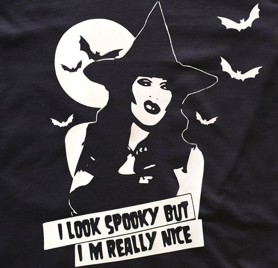 Sharon Needles witch t-shirt goth - Rupaul Drag Race