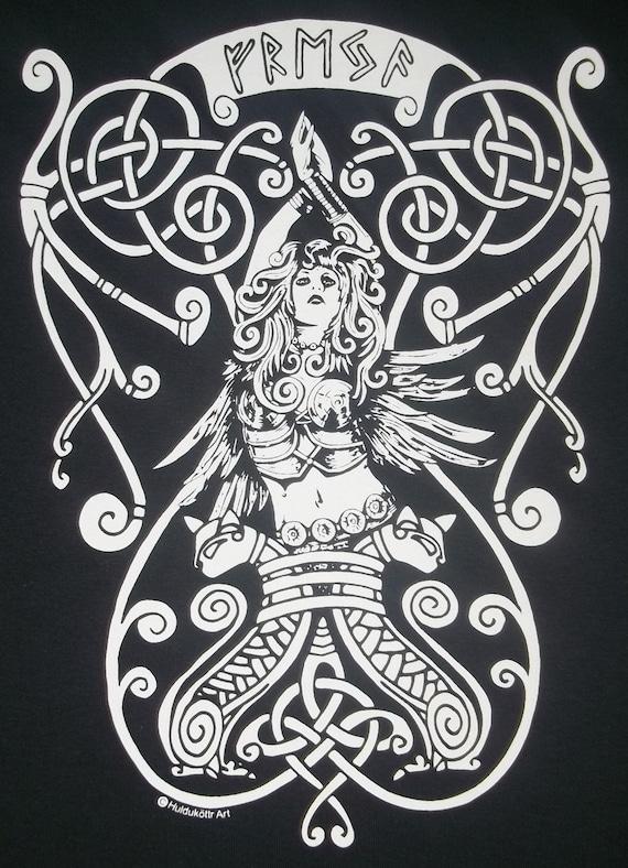 3XL Freya Goddess Rune Pagan Norse T-Shirt Choice of by ...