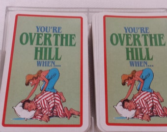 Over the Hill Deck of Cards - 2 Decks