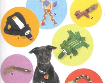 McCalls 7303, Pet Toys Sewing Pattern, DIY Pet Toys, New Uncut Pattern for Pet Toys,