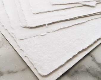8x10 Paper Printable Cotton Rag Paper Letterpress
