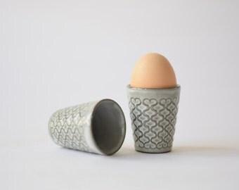 Quistgaard - CORDIAL - set of 2 - egg cups - Kronjyden / Nissen / Bing & Grøndahl - Danish mid century tableware