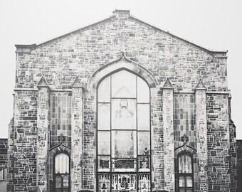 Atlanta photography - City - Urban Photography - Architecture Print - Building - Church