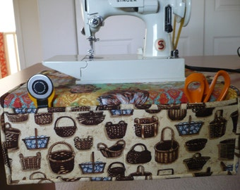 Sewing Machine Valet/Table Runner/Place-mat with Pockets