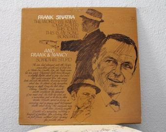 "Frank Sinatra - ""The World We Knew"" vinyl record"