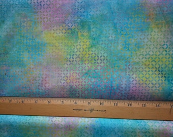 Hoffman fabric, by the yard, 100% cotton, Spring pastel colors, quilting fabric