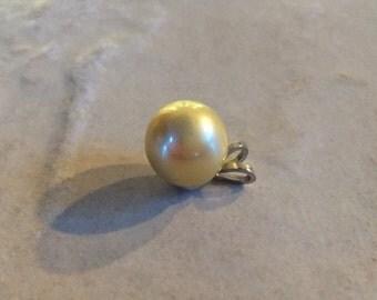 Australian South Sea Golden Pearl Pendant