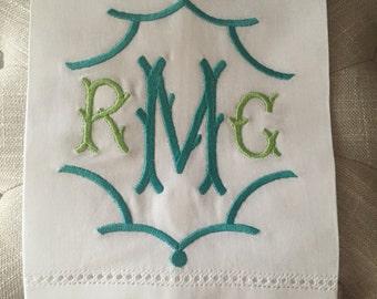 Custom  Linen Hand Towel
