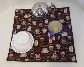 Coffee Maker Mat,  Drying Mat