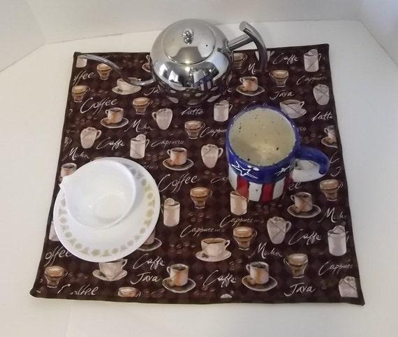Coffee Maker Mat Drying Mat