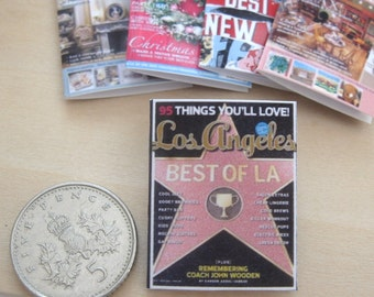 dollhouse magazine LA 12th scale miniature x 1