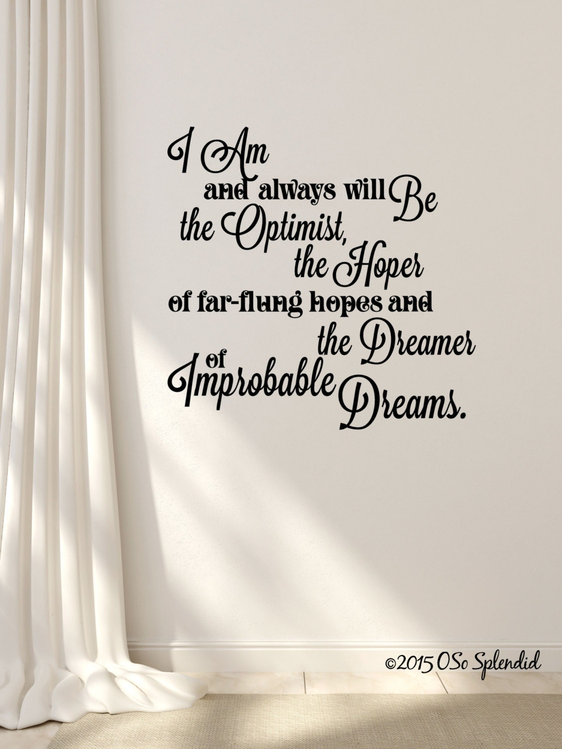 Doctor who inspired wall decal i am and always will be zoom amipublicfo Choice Image
