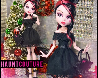 "Monster Doll ""Little Lolita LBD"" high fashion dress clothes"