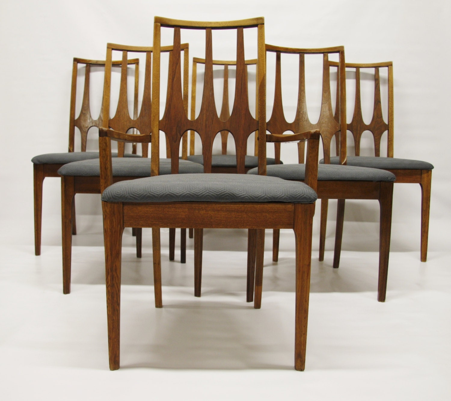 Mid Century Modern Broyhill Brasilia Dining Chairs Set Of 6