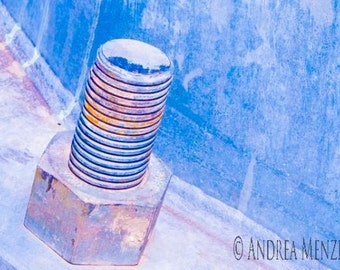 Blue Screw Industrial