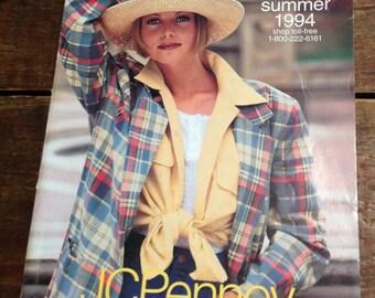J.C. Penney catalog Spring Summer 1994 Cheryl Tiegs cover