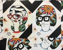 2 Bob's Burgers Prints Tina And Linda Belcher Prints